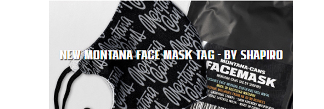 MONTANA FACE MASK -  TAG BY SHAPRIO